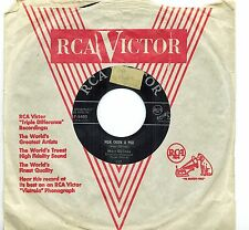 CANADA FRENCH QUEBEC 1958 POP 45 RPM MARC GELINAS : LA CHANSON DES P'TITS POSSO