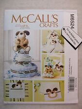 Baby Shower Items Burp Cloth Pillow Blanket sewing pattern M6524 See Full Info