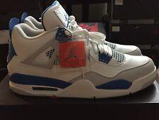 2012 Nike Air Jordan 4 IV Retro Military Blue 308497-105 Size 12