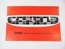 Original Ferrari 250 Granturismo Berlinetta SWB Sales Brochure French