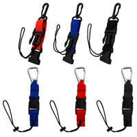Scuba Diving Lanyard w/ Quick Release Buckle Clip for Dive Light Camera BCD