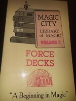 Force Decks Magic City Library Vol. 7 Booklet