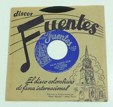 "CESAR CASTRO ""Salve Puerto Rico"" M- discos Fuentes 7"" Vinyl 45 World Ethnic"