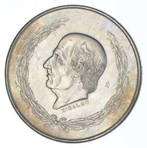 SILVER - WORLD COIN - 1952 Mexico 5 Pesos - World Silver Coin *317