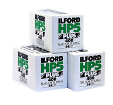 3X  ILFORD HP5 400 Plus  135-24 / Pellicola negativo bianco e nero