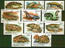 238 - Guinea - Reptiles - Used Set