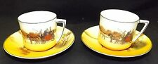 Royal Doulton Coaching Days Seriesware 2 Cups & Saucers E3804