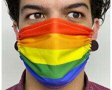 Mascherina Mascherine Arcobaleno, bandiera pace, bandiera gay, LGBT