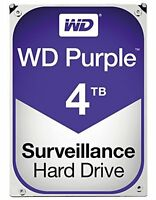 WESTERN DIGITAL PURPLE 4 TB SERIAL ATA III INTERNAL HARD DRIVE WD