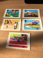 Royal Mail Stamp Post Cards PHQ 94 Sport 1986 Set