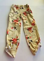 Gymboree Girl's Multicolored Floral Pant Size 9