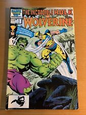 Marvel Comic The Incredible Hulk and Wolverine 1986