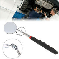 1Pc 50mm Car Telescopic Detection Lens Inspection Round Mirror 360° Repair To fz