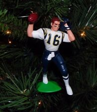 ryan LEAF san diego CHARGERS xmas NFL football ornament HOLIDAY vtg #16 jersey
