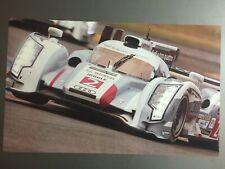 2014 Audi R18 e-tron Quattro Coupe Le Mans Race Car Picture / Poster RARE!! L@@K