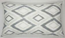 Handmade Grey Shades Diamond Home Decor Retro Grey Cushion Cover 50x30