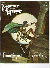 WoW! Monsters and Heroes #6 / Flash Gordon! Amateur Films! Inker Al Williamson!