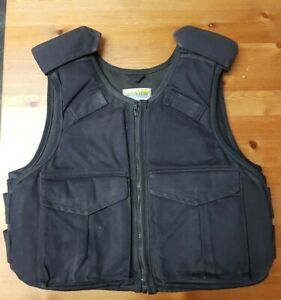 HIGHMARK Body Armour Stab Bullet Proof Vest Security Ex Police USED Small