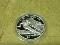 10 Euro Silber PP 2010 , FIS-Alpine Ski WM