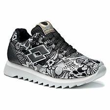 Scarpe Sneakers Donna LOTTO LEGGENDA S8877 OSAKA Bianco / Nero con Fantasia