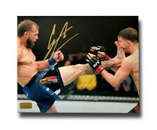 DONALD COWBOY CERRONE SIGNED UFC 16X20 PHOTO COA INSCRIPTAGRAPHS AUTOGRAPH KICK
