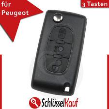 PEUGEOT Autoschlüssel Gehäuse 207 407 208 307 308 Fernbedienung Rohling VA2 Neu