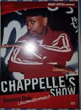 Unopened- Chappelle's Show - Season 1 Uncensored (DVD, 2004, 2-Disc Set) - NEW!