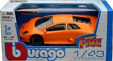 LAMBORGHINI MURCIELAGO 1:43 Car NEW Model Diecast Models Cars Die Cast Orange