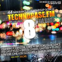 CD TechnoBase.FM Volume 8 von Various Artists 2CDs