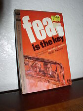 Fear is the Key by Alistair MacLean (Permabook,M-4260,1'st Prnt Jan.1963,PB)