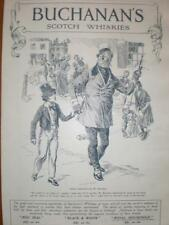Buchanan's Scotch Whisky Dickens Copperfield ad 1913