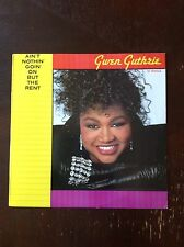 GWEN GUTHRIE AIN'T NOTHING GOIN ON BUT THE RENT club dub Mixes - NM