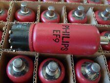 EF9 PHILIPS RED NEW TUBE VALVE 1 PC