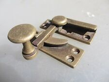 Victorian Brass Sash Window Latch Lock Catche Fastener Vintage Architectural Old