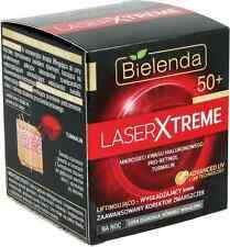 Bielenda láser Xtreme Wrinkle Corrector De Levantamiento Alisado Crema De Noche 50 +