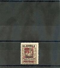 MEMEL (LITH OCC) Sc N89v(MI 232 II)*F-VF LH 1923 30c/100M/1L BROWN $750