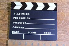 """Movie Clapboard Clap Board Clapper 8"""" x 7"""""""