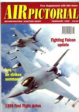 Air Pictorial 1999 February Sun Country Boeing 727,F-16,Harrier,XB-70A Valkyrie
