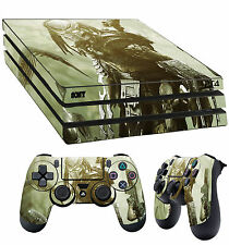 PS4 Pro Skin PREDATOR YAUTJA ALIEN HUNTER Sticker + 2X Pad decal Vinyl LAY