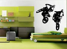 Wall Decal Sticker Bedroom Nursery Sport dirt bike ride sport jump kids bo2906