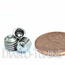 6mm x 1.00 x 6mm - Qty 10 - A2 Stainless Steel DIN 916 CUP Point SET SCREWS - M6
