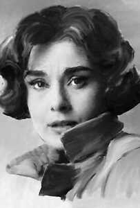 Audrey Hepburn original painting in acrylic by Brian Tones