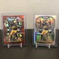 JuJu Smith-Schuster 2020 Panini Prizm Silver And Cracked Ice Pittsburgh Steelers