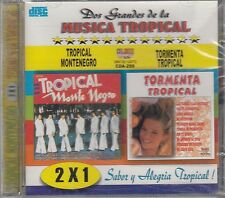 Tropical Montenegro Tormenta Tropical 2x1 CD New Nuevo sealed