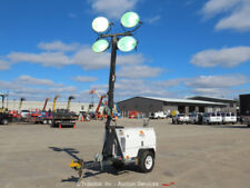 New listing 2011 Wanco Wltc4 Towable Light Tower Generator Kubota Diesel Genset bidadoo