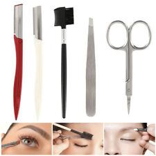 Face & Eyebrow Hair Removal Razor Trimmer Shaper Shaver Brow Makeup Tool Set