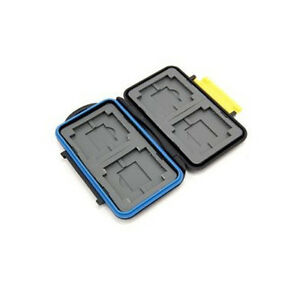 JJC Caja de Tarjetas Memoria MC-3 Para 4 Cf , 4 Xd , 4 SD Mspd a Prueba Agua