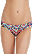 Jessica Simpson Madison Side-Shirred Swim Hipster Bikini Bottom in Small