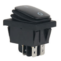 12V 20A Car Auto Boat Round Rocker ON/OFF TOGGLE SPST SWITCH Waterproof