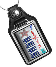 Robin Williams Mork & Mindy Na Nu Na Nu Quote Leather Key Ring & Decals